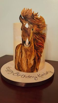 Painted Horse  - Cake by Tracy