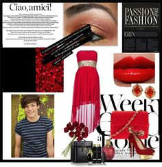 """date with louis tomlinson"" by crystal19998 ❤ liked on Polyvore"