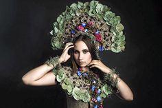 """Ethnic Chic"" Florist: Natalia Kulyaeva Photographer: Marina Skripkina"