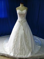 Plus Size Wedding Dress from WeddingDressFantasy.com