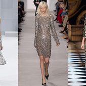 Audace : voici l'un des mots d'ordre des tendances de l'hiver prochain. Déluge de mauve et de rose, fourrures électriques, rouge couture, lurex shiny en all over… Après une saison à la faveur du minimalisme Nineties, la couleur est au rendez-vous. Côté formes, c'est le mix des styles, les épaules redessinent un esprit 80, la taille se souligne de corsets nouvelle génération, l'oversize s'affirme, les effets matelassés gagnent du terrain… En bref, l'automne-hiver 2016-2017 se prend au jeu…
