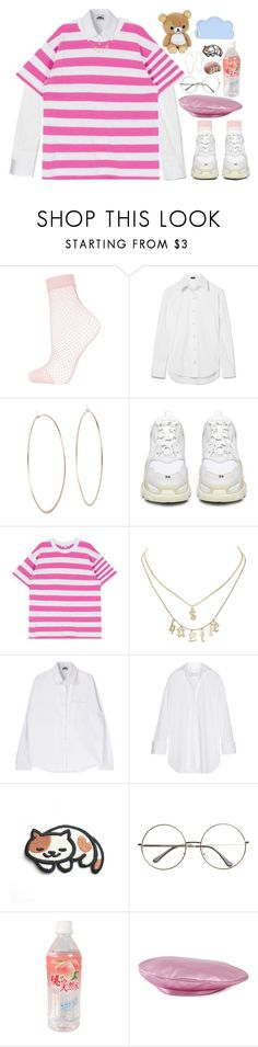 """Set 840 -"" by xjulie99 ❤ liked on Polyvore featuring Topshop, Joseph, Michael Kors, Balenciaga, Charlotte Russe, Marques'Almeida, Gucci and STELLA McCARTNEY"