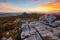 The Welsh Borders, Sunset, by Jordan Mansfield Under Construction, Welsh, Landscape Photography, Jordans, England, Sunset, Water, Prints, Outdoor