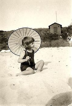 Little Cutie and her Parasol...