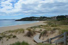 Playa de Montalvo en Sanxenxo