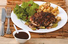 Pollo marinado con salsa de jengibre y chocolate   Vida Éxito