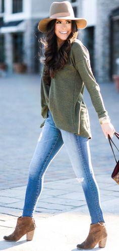 Thermal Top + Jeans + Booties                                                                             Source http://spotpopfashion.com/d4av