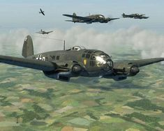 Luftwaffe bomb run #WartsOnNose