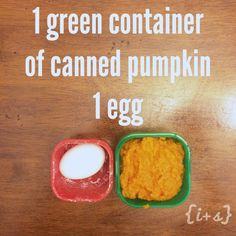 BECAUSE heating Shakeology RUINS the nutrients in the shake...this is a good clean eating dessert alternative. Tastes like pumpkin pie cake! Nom-Nom!