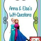 """A printable card game you can you to practice answering """"What"""" and """"Where"""" questions.  There are 18 """"what"""" questions and 18 """"where"""" question strips..."""