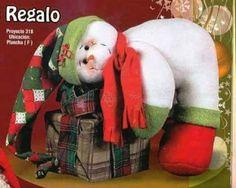 NOEL NIEVE REGALO Dinosaur Stuffed Animal, Teddy Bear, Bird, Cats, Animals, Manta Polar, Patterns, Snowman, Christmas Ornaments