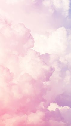Awesome Pink Clouds Wallpaper
