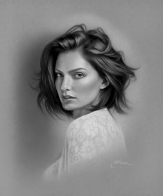 elik is an artist from Turkey, who's born in Alanya. Musa worked as an art teacher currently working as a teacher laying. Musa has options using oil Portrait Draw, Portrait Sketches, Pencil Portrait, Art Sketches, Art Drawings, Realistic Pencil Drawings, Realistic Rose, Charcoal Art, Portraits