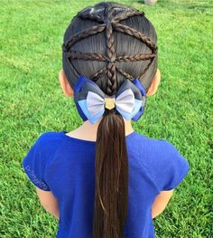 "1,703 Likes, 12 Comments - Little Girl Hairstyles (@braidsforlittlegirls) on Instagram: ""So neat and pretty!! Credit @pr3ttygirl79 #Braidsforlittlegirls"""