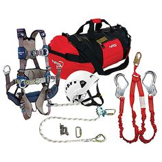 Basic Guide to Tower Climbing Equipment - http://www.towerclimber.com/basic-guide-tower-climbing-equipment/