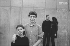 Family of four Modern Family Photography
