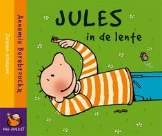 Beoordeling: Nog niet beoordeeld Samenvatting     Jules geniet van de lente tot er plots een druppel op zijn been valt. Kartonnen prentenboek met eenvoudige tekeningen in kleur. Vanaf ca. 3 jaar.