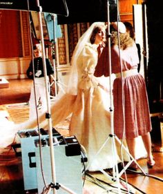 Have never seen this-Diana on her wedding day