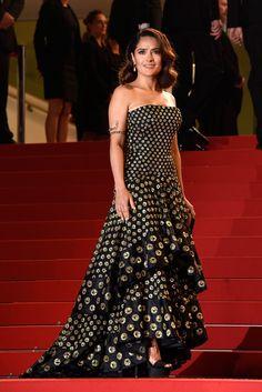 Salma Hayek in Alexander McQueen beim Filmfest in Cannes