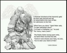 """The Fallen Firefighter"" Thank You all! For Your Service! Firefighter Paramedic, Firefighter Love, Firefighter Quotes, Volunteer Firefighter, Female Firefighter, Firefighter Pictures, Fire Dept, Fire Trucks, Shelter"