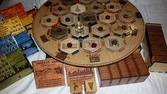 Well, if youve found this, you undoubtedly know about the game Settlers of Catan, and hopefully JRR Tolkien. This is my rendition of the game. Restyled and re-designed in its entirety, this game plays with the exact same rules, set up, and strategies as the original. HOWEVER, there