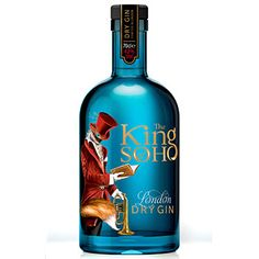 Porn-inspired gin King of Soho launches in London