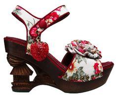 Oriental Sun So Shoes by Irregular Choice