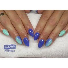 Ombre :) #semilac #diamondcosmetics #ilovesemilac #nailart #nails #hybryda…
