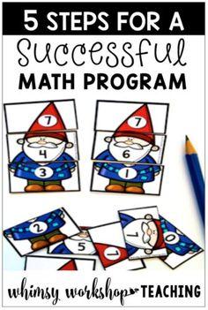 Math: 5 Steps to a Successful Program