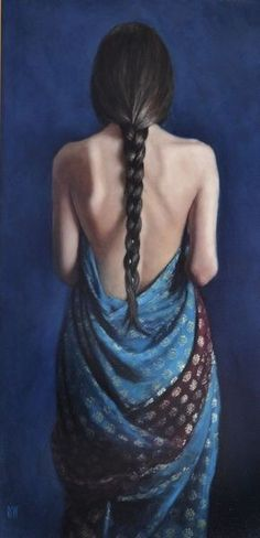 Kai Fine Art is an art website, shows painting and illustration works all over the world. Painting People, Figure Painting, Portrait, Figurative Art, Love Art, Shades Of Blue, Female Art, Oil On Canvas, Art Photography