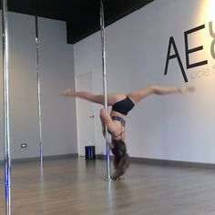 """1,709 Likes, 19 Comments - Pole Dance Nation ™ (@poledancenation) on Instagram: """"I think @gaborrayo nailed this @alessio.bucci_artist transition. What do you think? HASHTAG…"""""""