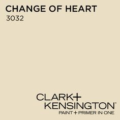 Change of Heart 3032 by Clark+Kensington. new color in our room :)