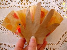 Gobble Pops · How To Make A Model Or Sculpture · Decorating and Papercraft on Cut Out + Keep Diy And Crafts, Crafts For Kids, Paper Crafts, Coffee Filter Crafts, Making A Model, Plastic Tablecloth, Lollipop Sticks, Handmade Table, Holiday Crafts
