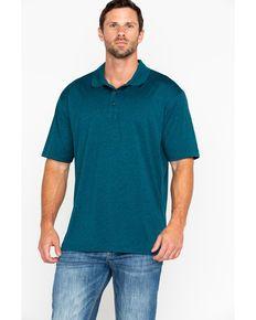 21d17bba0a Cody James Mens Aqua Short Sleeve Polo Shirt
