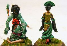 Evil Bob's Miniature Painting: Ito Clan for Bushido