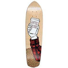 Coffee, our lifeblood! Lifeblood Coffee Cruiser Skateboard #evo #evogear