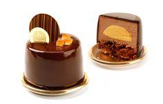 Elegant chocolate pastry