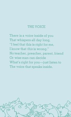 Shel Silverstein is one of the most oddly wise poets ever.
