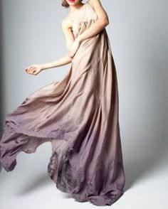 Ombre dress, definitely think I'd wear as nightgown...it makes me feel sultry and romatic just looking at it!!