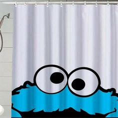 Monster Cookies Cute For Kid Shower Curtain By ApolloCurtain 2999 Bathroom Curtains
