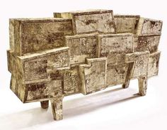 Opulent Organic Furniture -  Werner Neumann Using Atypical Materials to Create…
