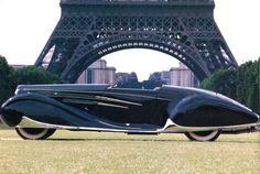 Frenchcurious: Delahaye 165 (Salon de Paris 1938) par Figoni...