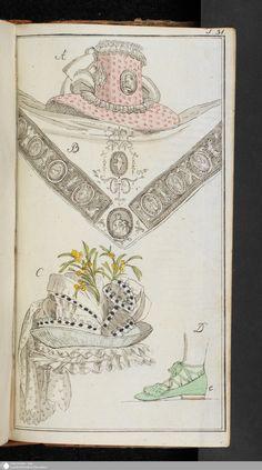 Journal des Luxus und der Moden: November, 1789.