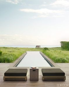 South Hampton beach house (Elle Decor)