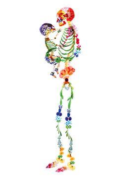 押し花アート写真集『flora』- 多田明日香が美しい花々の世界で彩る鮮やかな骨格 | ニュース - ファッションプレス