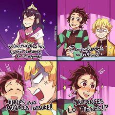 Read 53 from the story //cómics Y Memes de Kny// by -_hilary-chan_- (owo) with reads. Demon Slayer, Slayer Anime, Naruto Cute, A Silent Voice, Gorillaz, My Hero Academia Manga, Anime Demon, Otaku Anime, Anime Comics
