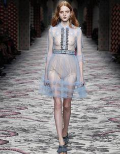 Look book Gucci printemps-été 2016 - Elle