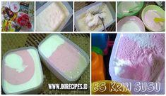 Resep Es Krim Susu Homemade Enak dan Irit. 20rb Dapat 2,5 Liter