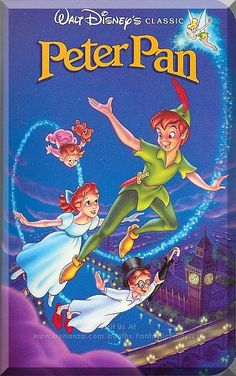 New Listing Started Walt Disney (Classics): Peter Pan (Pal/Vhs) Walt Disney, Disney Films, Disney Pixar, Disney Animation, Disney Love, Disney Songs, Animation Movies, Disney Quotes, Peter Pans