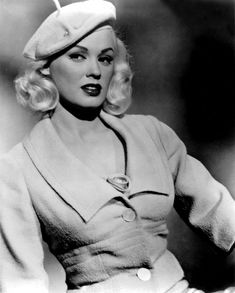 """Mamie Van Doren, born Joan Lucille Olander (February is an American actress, model, singer and sex symbol that is known for being one of the first actresses to imitate or """"clone"""" the look of Marilyn Monroe. Golden Age Of Hollywood, Vintage Hollywood, Hollywood Glamour, Hollywood Stars, Classic Hollywood, Planet Hollywood, Hollywood Icons, Mamie Van Doren, Vintage Glamour"""